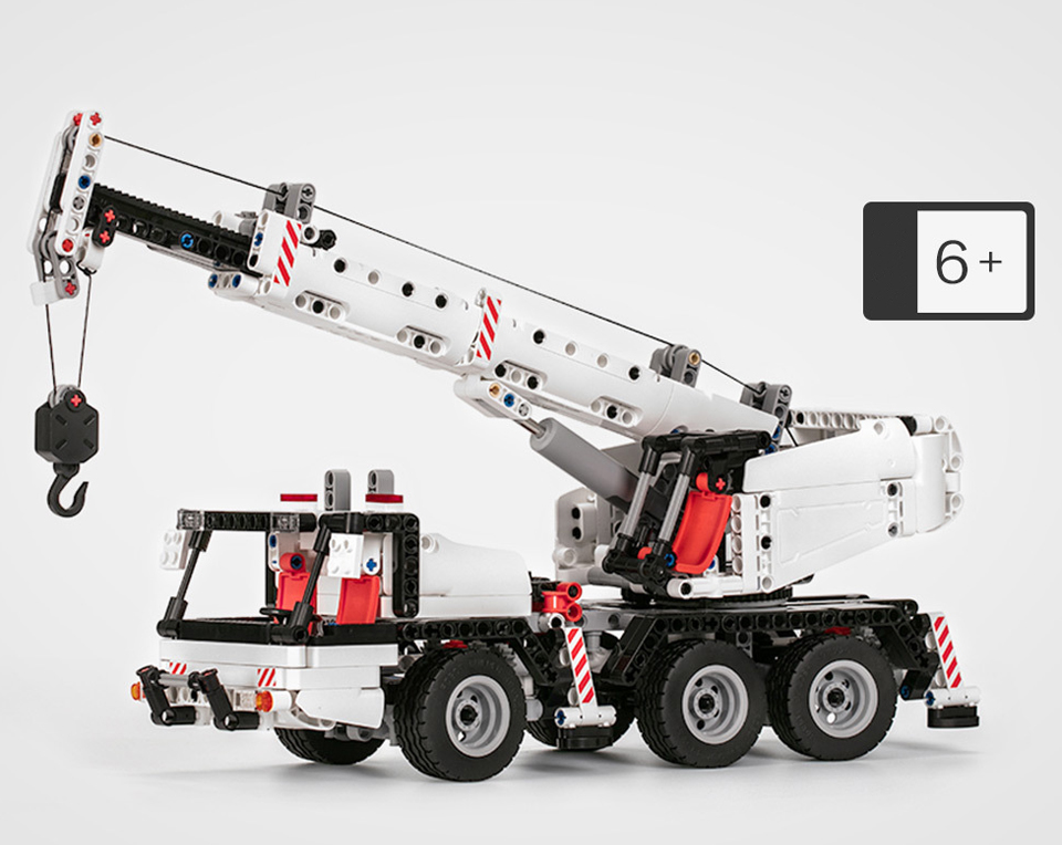 Конструктор-трансформер Xiaomi Mi Bunny MITU Building Block Engineering Crane
